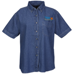 Blue Generation Short Sleeve Denim Shirt - Ladies'