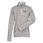 Heathered Fleece Pullover - Ladies'
