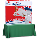 Tension Fabric Tabletop Display - 5'