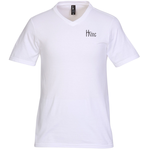 District Concert V-Neck Tee - Men's - White - Screen