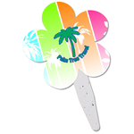 Grow Stick Mini Hand Fan - Flower