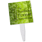 Grow Stick Mini Hand Fan - Square