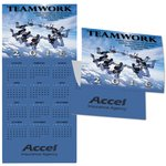 Teamwork Calendar Greeting Card