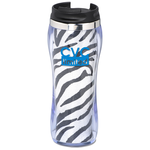 Hollywood Travel Tumbler - Zebra - 14 oz