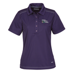 Dunlay MicroPoly Textured Polo - Ladies'