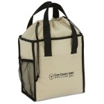Drawstring Lunch Cooler Tote - Closeout