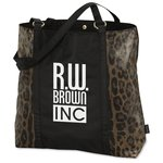 Instincts Fashion Tote - Cheetah - Closeout