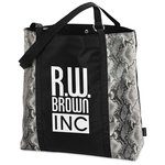 Instincts Fashion Tote - Snakeskin - Closeout