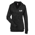 Next Level Burnout Hoodie - Ladies'
