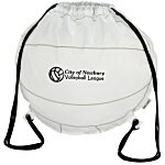 Game Time! Volleyball Drawstring Backpack