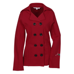 Riley Fleece Pea Coat - Ladies'