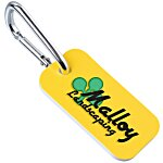 Sof-Color Key Tag w/Carabiner
