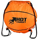 Game Time! Basketball Drawstring Backpack - 24 hr