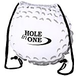 Game Time! Golf Ball Drawstring Backpack - 24 hr