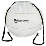 Game Time! Volleyball Drawstring Backpack - 24 hr