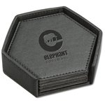 Broadway Hexagonal Coaster Set