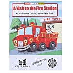 A Visit to the Fire Station Coloring Book