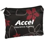 Fashion Pouch - Black Floral
