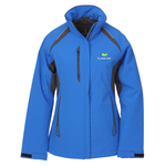Ortega Color Block Insulated Soft Shell Jacket - Ladies'