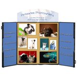 Double Fold Tabletop Display - 4' - Full Color