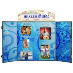 Double Fold Tabletop Display - 6' - Full Color