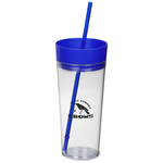 Templar Tumbler with Straw - 22 oz.