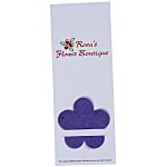 Plant-A-Shape Flower Seed Bookmark - Flower