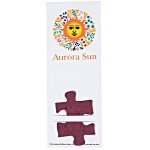 Plant-A-Shape Flower Seed Bookmark - Puzzle Piece