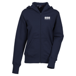 Full Zip Hooded Fleece Jacket - Ladies'