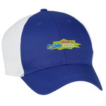 Two-Tone Polyester Cap - Embroidered