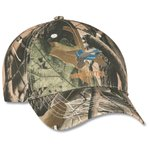 Polyester Camo Hunter Cap - Embroidered