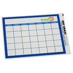 Removable Monthly Calendar Decal - Trellis