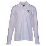 Brecon Long Sleeve Moisture Wicking Polo - Men's