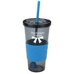 Smoky Revolution Tumbler w/Straw - 24 oz. - 24 hr