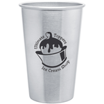 Stainless Steel Pint Glass - 16 oz. - 24 hr