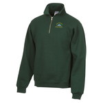Jerzees Nublend Super Sweats 1/4 Zip Pullover - Embroidery