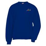 Jerzees Nublend Super Sweats Crew - Embroidered