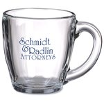 Tapered Glass Mug - 16 oz. - 24 hr