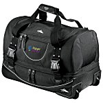 "High Sierra 22"" Rolling Duffel - Embroidered"