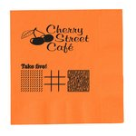 Colorware Beverage Napkin - 2-ply - Color - Game
