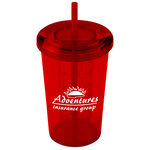 Tutti Frutti Tumbler w/Straw - 20 oz. - 24 hr