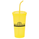 Brilliantly Bent Straw Tumbler - 22 oz.
