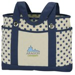 Audrey Fashion Tote - Embroidered