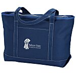 Solid Cotton Yacht Tote - Colors - 14