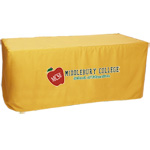 Closed-Back Fitted Table Cover- 8' - Heat Transfer