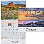 Landscapes of America Calendar (English) - Spiral