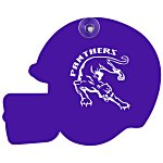 Window Sign - Football Helmet - Plastic - Color