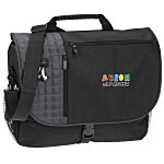 Verve Checkpoint-Friendly Laptop Messenger Bag - Emb