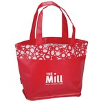 Annabelle Laminated Tote - Closeout