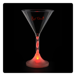 Martini Glass with Light Up Spiral Stem - 6 oz.